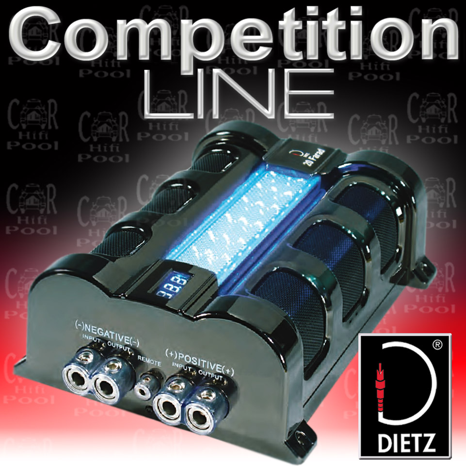 dietz 21020 20 farad power cap kondensator ebay. Black Bedroom Furniture Sets. Home Design Ideas