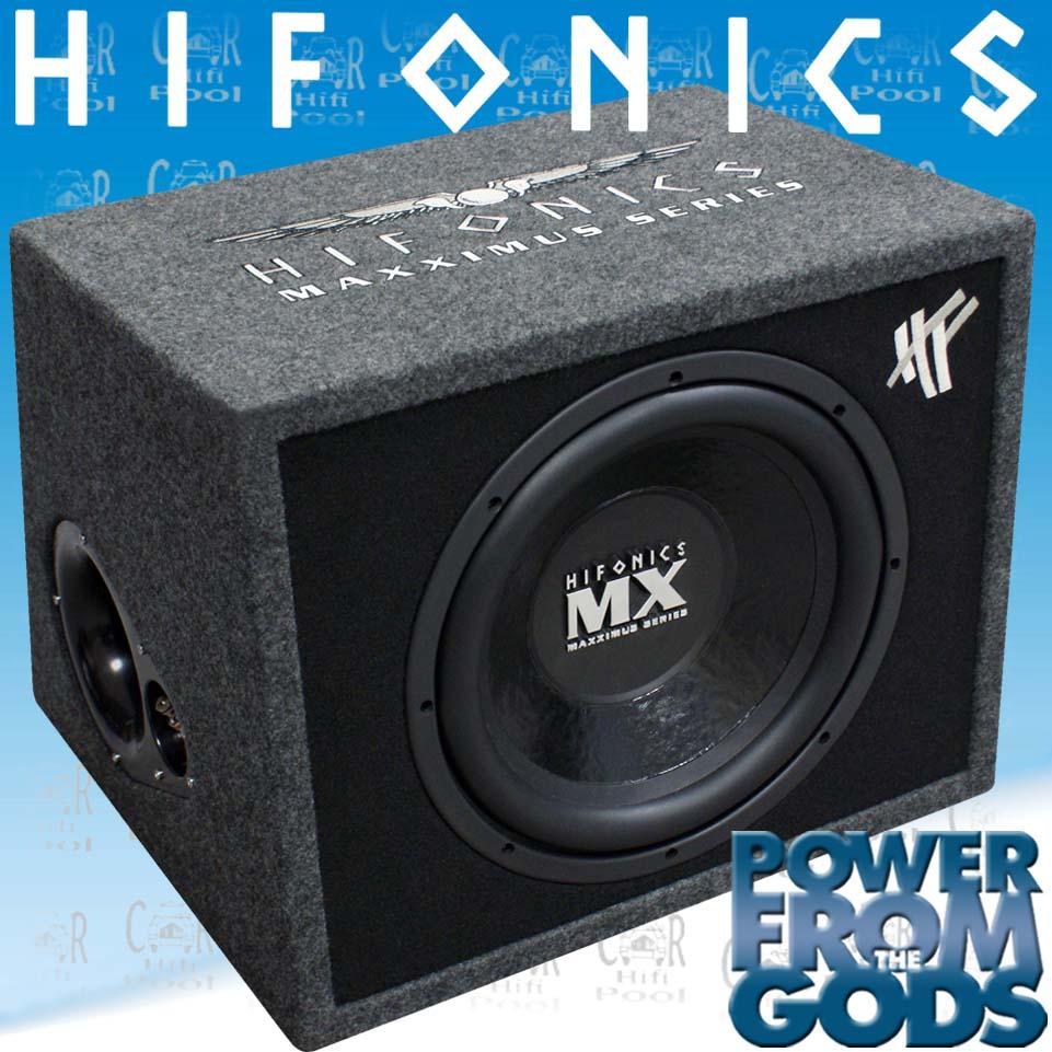 hifonics mx 12 reflex woofer 30cm geh use subwoofer neu. Black Bedroom Furniture Sets. Home Design Ideas