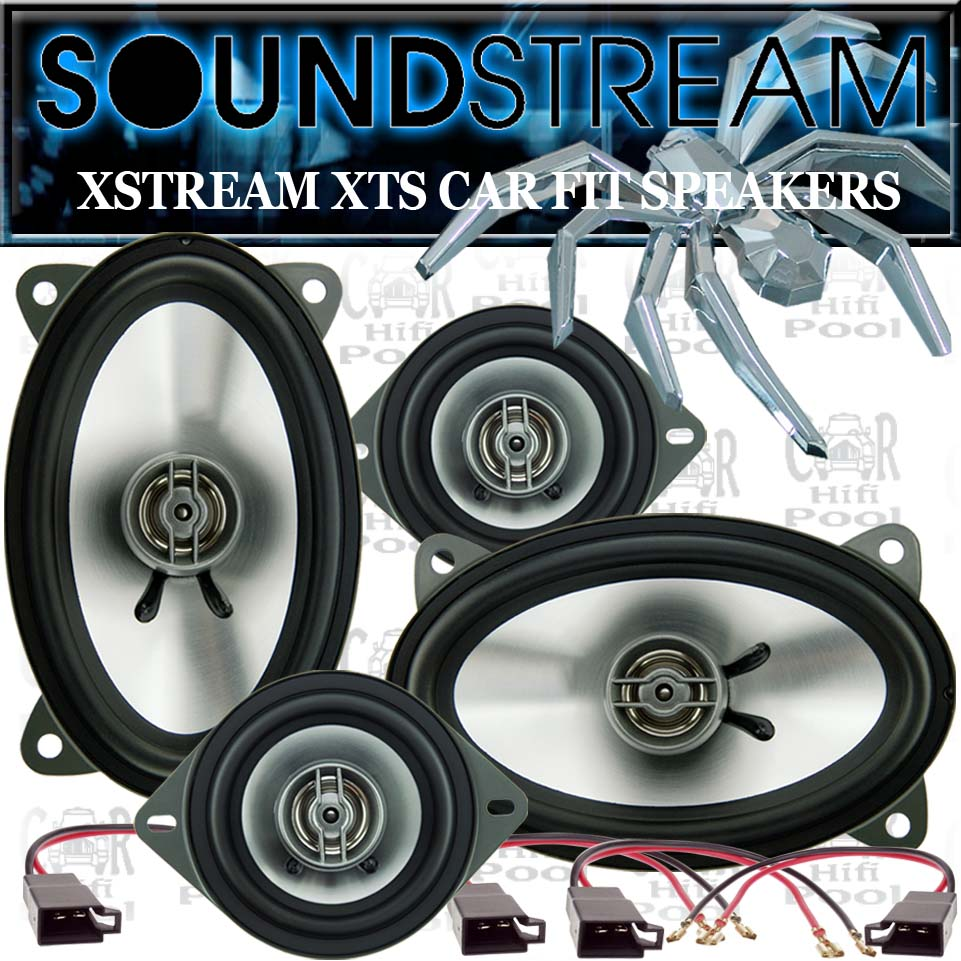soundstream lautsprecher vw golf 2 polo 86c vorn hinten ebay. Black Bedroom Furniture Sets. Home Design Ideas