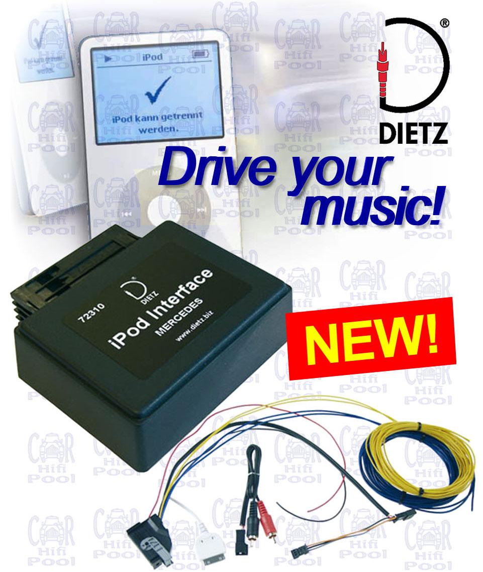 Can Bus Interface Dietz Mercedes W